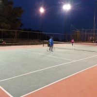 TENNIS COURT THRAKOMAKEDONES Great Heights – Large Areas