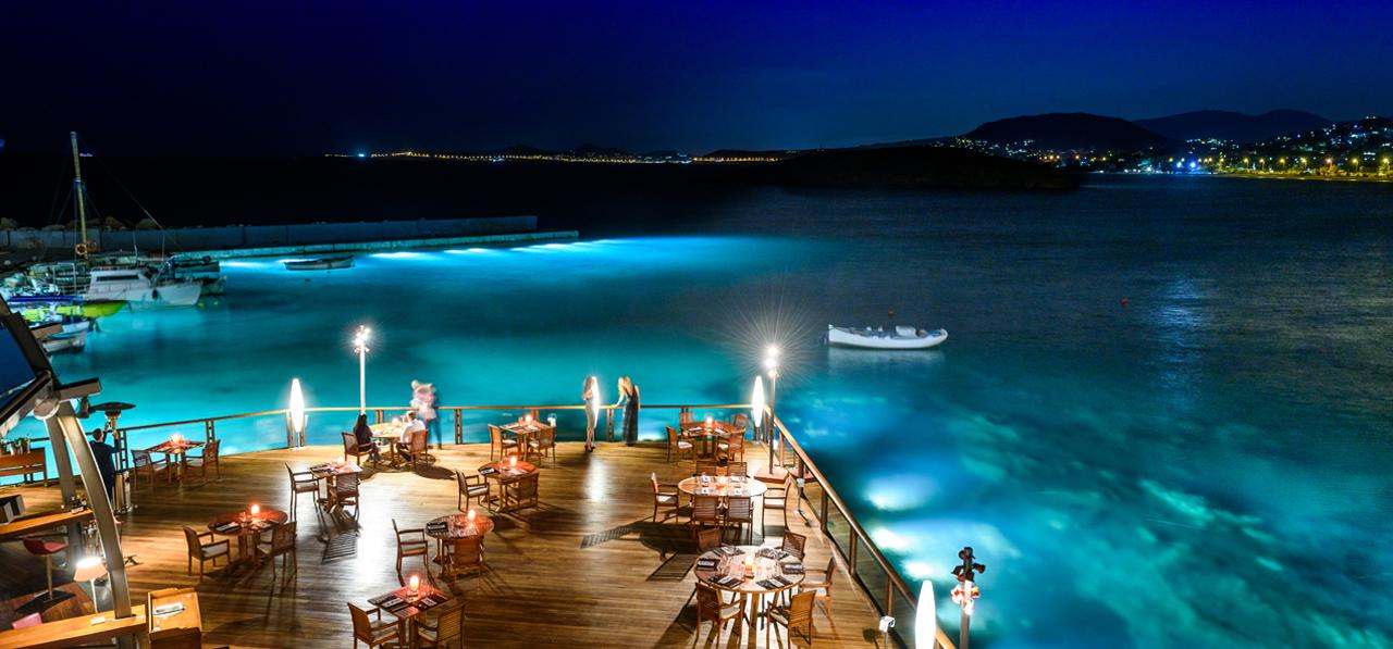 GRAND RESORT LAGONISSI Marine – Submerged Lights