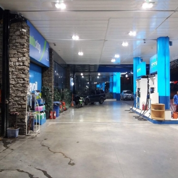 REVOIL KRITIKOS PETROL STATION HAIDARI Canopy Lighting