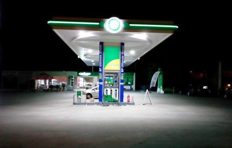 bp lagos nikos petrol station thessaloniki - βενζινάδικο Θεσσαλονίκη